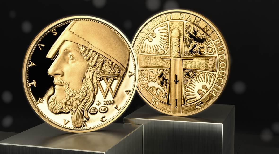 Svatováclavský zlatý dukát 2020